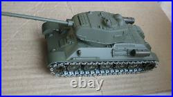 1/50 Solido T-34 / 85 Soviet Tank Panzer WWII Metall Model Made in France 3/1964