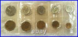 1968 Russia Ussr Cccp Soviet Union Official Leningrad Mint Prooflike Set (9)