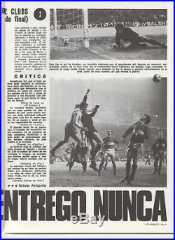 1972/73 ECWC Atletico Madrid v Spartak Moscow (USSR Soviet Union) 1st Leg