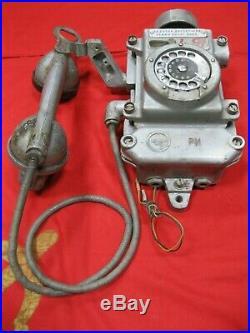1972 Vintage PHONE BUNKER MINE TASHA-2 Soviet Union Russian USSR