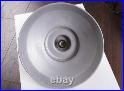 50er Alte Industrielampe Loftlampe Fabrik Hängelampe UFO LOFT LAMP Aluminium