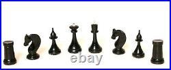 60 s Chess set USSR Soviet Vintage wooden antique elegant Russian