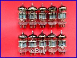 6N1P 61 a-g 6BQ7A 6DJ8 ECC88 triode vacuum tube soviet NOS NEW 100pcs