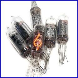 6x IN-14 IN14 nixie tubes digit neon indicators NOS