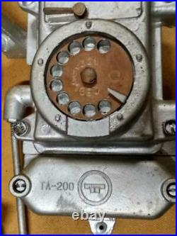 70ies Vintage BUNKER MINE Wall Phone TA-200 Soviet Union Russian USSR 70s Tasha