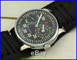 AVIA STYLE Regulateur marriage mechanical men's wristwatch, 18 jewels