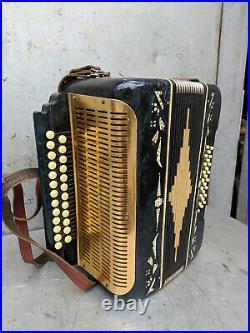 Accordion Musical Instrument Vintage Retro USSR Soviet