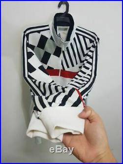 Adidas 1991 CCCP Soviet Union USSR Track top Jacket Soccer Jersey Shirt L