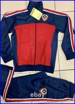 Adidas USSR CCCP vintage Soviet Union Russia track suit 80 olympics uniform New