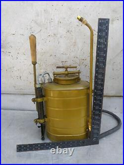 Army Backpack Sprayer Military Chemical Protection 1955 Vintage USSR