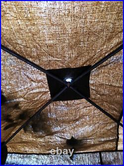 Army Field Suspended Shower Canvas Awning Original Vintage USSR