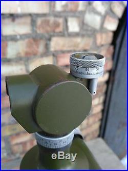 Artillery Sight Visir Optical periscope panoramic USSR Soviet Military