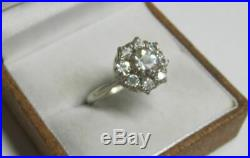 Beautiful Vintage Soviet Russian Ring Sterling Silver 875 Antique USSR Size 9