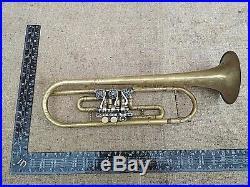 Brass Trumpet Vintage Original USSR Musical Instrument