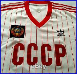 CCCP 1982 USSR SOVIET UNION Adidas Originals Shirt Jersey