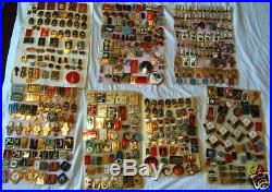 COLLECTION OF 500 PIN set MOSCOW OLYMPIC GAMES 1980 RUSSIA USSR