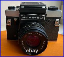 Camera KIEV 60 TTL USSR Type / Format TLR, medium-format. Lens MC Volna-3