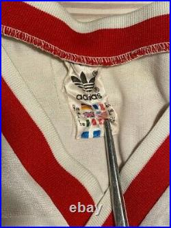Cccp 1986 #11 Ussr Soviet Union Russia Adidas Vintage Football Shirt
