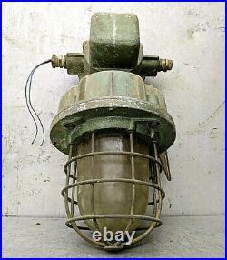 Ceiling Pendant Lamp Light Factory Steampunk Vintage Industrial