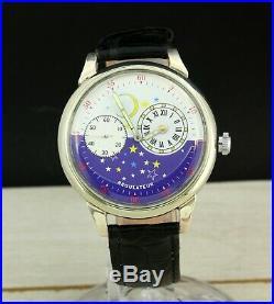 Cosmos Regulateur marriage mechanical men's wristwatch, 18 jewels