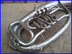 Decor Interior Brass Horn Wind Musical Instrument Vintage Original USSR