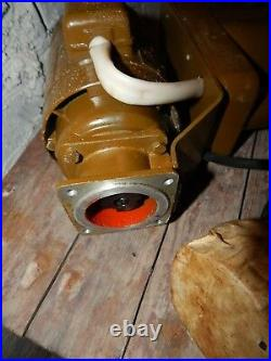 Electric Motor 220v Handle Forge Blower Blacksmith Army USSR Military Old Stock