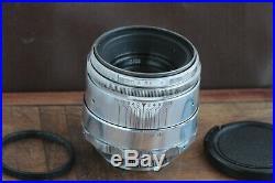 Excellent Helios 44 2/58 M39 M42 Silver Bokeh portrait Lens Perfekt seller