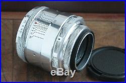 Excellent Rare early Helios 44 2/58 M39 M42 Zenit. 13 blades. Soviet lens