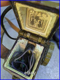Field Radio Operator Handset Headphone R-126 Vintage Soviet Russian USSR