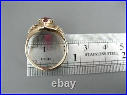 GOLD RING 14K 585 Size 7 Soviet Union Russian USSR