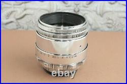 HELIOS 44 Silver 13 petal, Soviet lens for Canon, Nikon, Sony, Fuji, Nikon