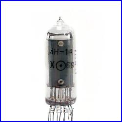 IN-14 ultrarare fine grid nixie tubes USSR indicator digit for DIY clock NOS