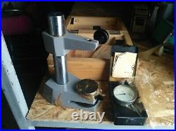 INDICATOR MICROMETER STAND VERTICAL Measuring with indicator VINTAGE