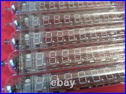 IV-18 IV18 Nixie large 7-segment 8-digit VFD Clock Soviet Tube vintage NEW 10pcs