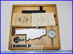 In EU Dial Offset Gear Tooth Measuring pitch Gauge M8-20 0.005mm USSR
