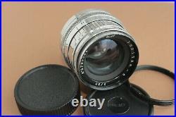 JUPITER-8 50mm Silver Lens Leica LTM M39 Sonnar copy + adapter M42