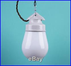 LOFT Lampe Porzellan Keramik Glaskolbenlampe Industrielampe LAMP Bauhaus CCCP