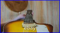LUNACHARSKAYA USSR Vintage Electric Guitar Semi Hollow Archtop EC