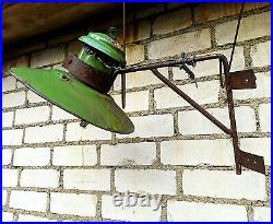 Lamp Light Lantern Industrial Soviet Union USSR Vintage Retro