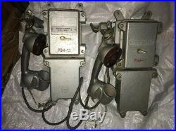 Last! Vintage BUNKER MINE PHONE TASH-MB Soviet Union LAST CENTURY USSR