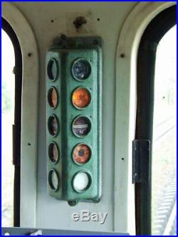 Locomotive train control traffic light driver signal
