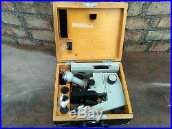 Lomo BIOLAM road microscope box 1960s Vintage