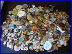 Lot of 400 pcs. Enemal Pin Badge of Soviet Union Communism Different Themes