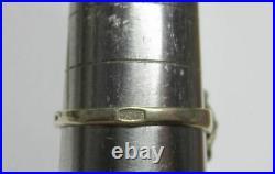 Lovely Vintage Soviet Ring Silver 875 Alexandrite Stone Antique USSR Size 9.5