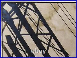 MARGARET BOURKE-WHITE The Bridge In Soviet Union (USSR) 1930 Signed RARE