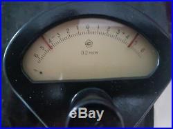 Mikrokator (+-0.006 mm) metric 0.0002mm per division. USSR NEW