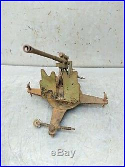 Military Army Forces Artillery Brass Desktop Souvenir Paperweight