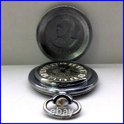Military pocket watch Marshal Zhukov Soviet mechanical working watches USSR