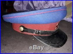 NKVD M40 cap Soviet Union USSR RARE original WW2 1947