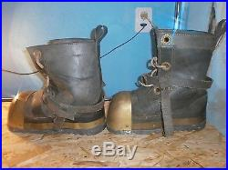 Navy Diver's Boots shoes pair Soviet USSR